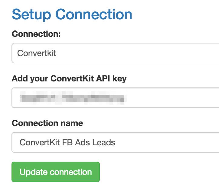 ConvertKit API Paste
