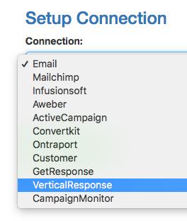 Select VerticalResponse