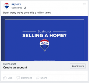 RE/MAX Facebook Static Image Ad