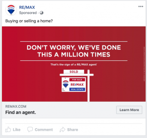 RE/MAX Facebook Static Ad