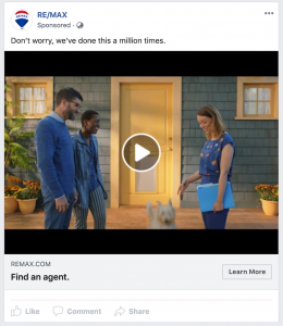 RE/MAX Facebook Video Ad