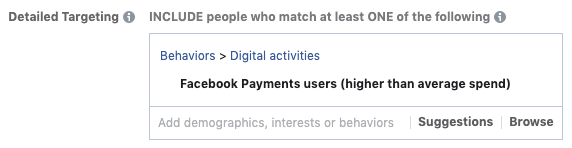 Facebook Payments Users