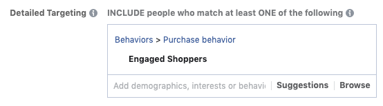 Engaged Shoppers