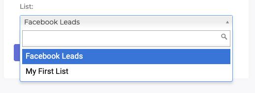 Select a List